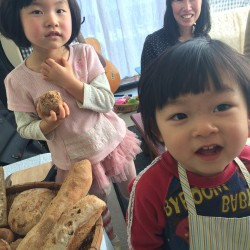 天然酵母パン教室の卒業