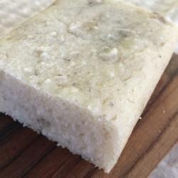 7月パン 米100%(pane di riso)(バナナ+チアシード)