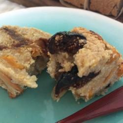 8月 torta di riso(発芽モード玄米パウンドケーキ)