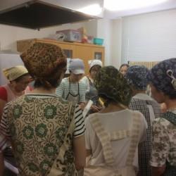 伏見エコプロジェクトでの天然酵母パン教室
