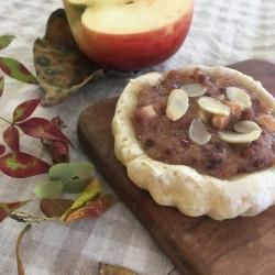 【11月パン】mele grain kugrof(リンゴ+高きびクリームクグロフ)+ピッコロ