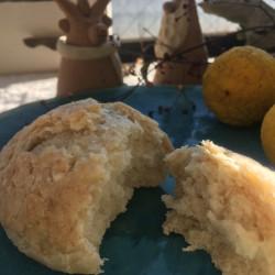 12月パン 柚子ココナッツメロンパン