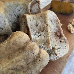 3月パン patate dolce con noce graincream  kugrof / piccolo