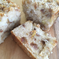 1月 torta di riso(りんご+柚子の酵母パウンド玄米ケーキ)