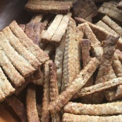 3月 天然酵母を使用したイタリアの焼き菓子(クラッカー)
