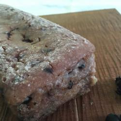 1月パン 玄米100%(黒米+黒豆入り)