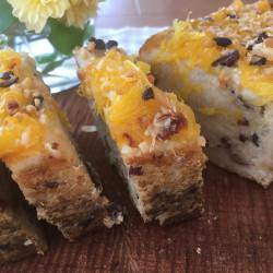 5月 torta di riso fiore(発芽モード玄米パウンドケーキ)