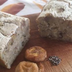 7月パン 玄米100%(ドライバナナ+チアシード入り)
