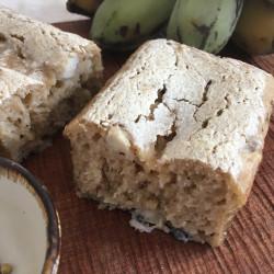 8月パン 玄米100%(西表産島バナナ+スパイス入り)