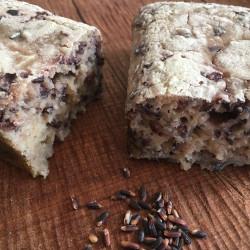 8月パン 玄米100%(黒紫米入り)
