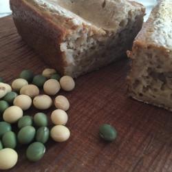 9月パン 玄米100%(在来種豆の自家製きなこ入り)