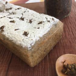 10月パン 玄米100%(紫蘇ペースト+穂紫蘇入り)